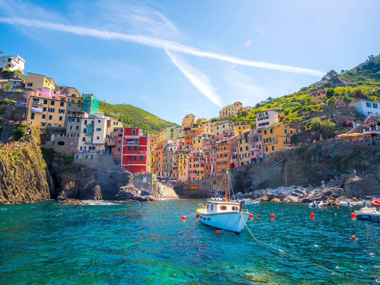 Bluesky - destinatie Italia Cique Terre